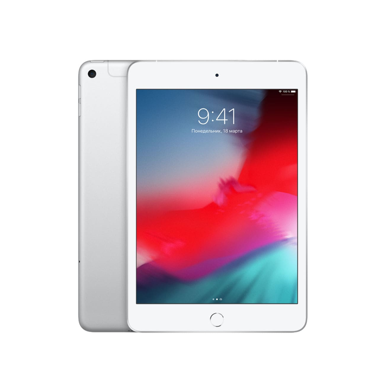 iPad mini Wi-Fi+Cellular 64Gb Silver (Серебристый)