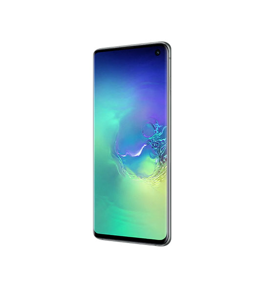 Смартфон Samsung Galaxy S10 128Gb Аквамарин РСТ