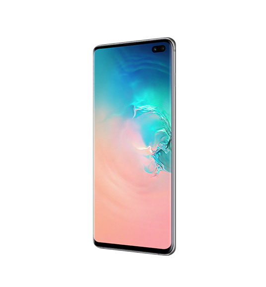 Смартфон Samsung Galaxy S10+ 128Gb Перламутр РСТ