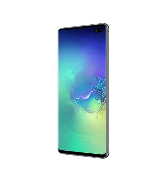 Смартфон Samsung Galaxy S10+ 128Gb Аквамарин РСТ