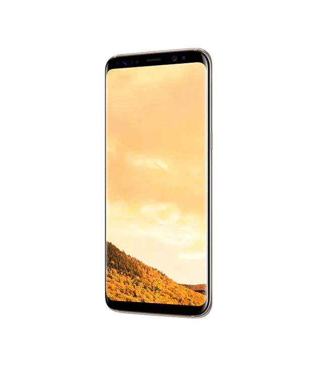 Смартфон Samsung Galaxy S8 64Gb Желтый топаз РСТ